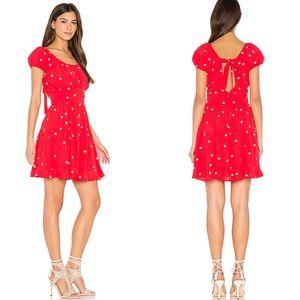 For Love And Lemons Tiered Chiquita Mini Dress XS
